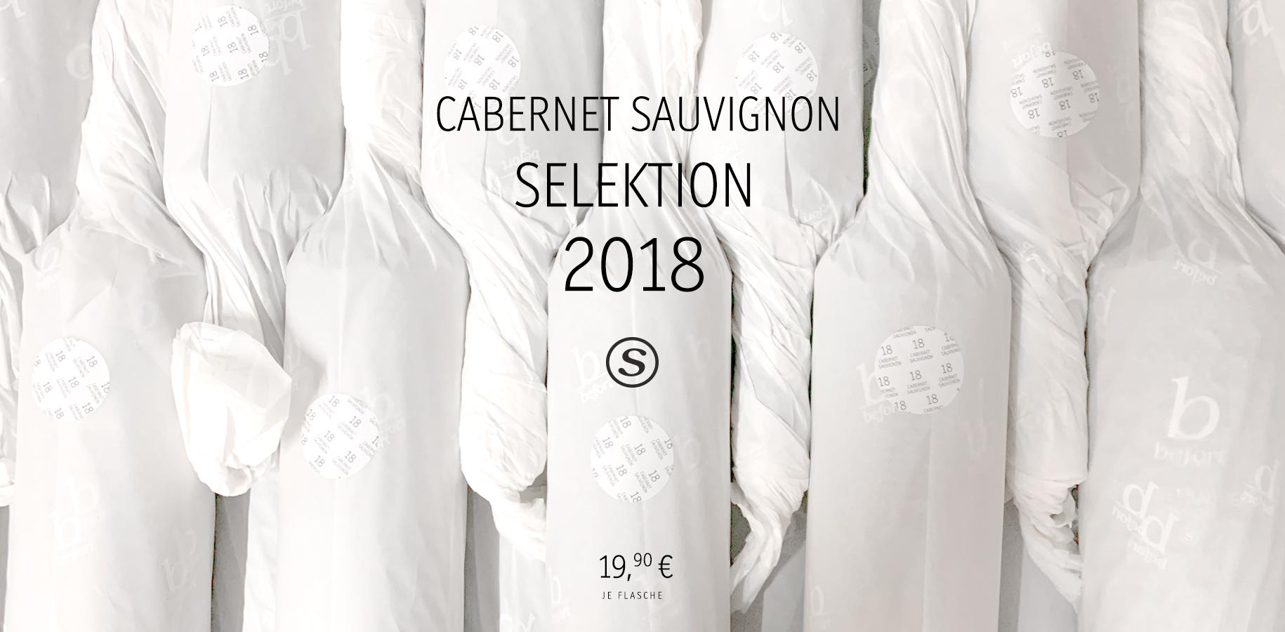 Cabernet Sauvignon 2018, 19,90€/Fl.