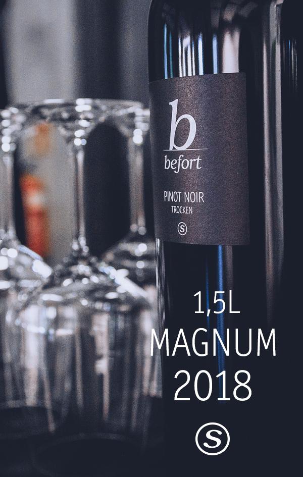 Pinot Noir Magnum »S«; 49,00€ je Flasche / versandkostenfrei