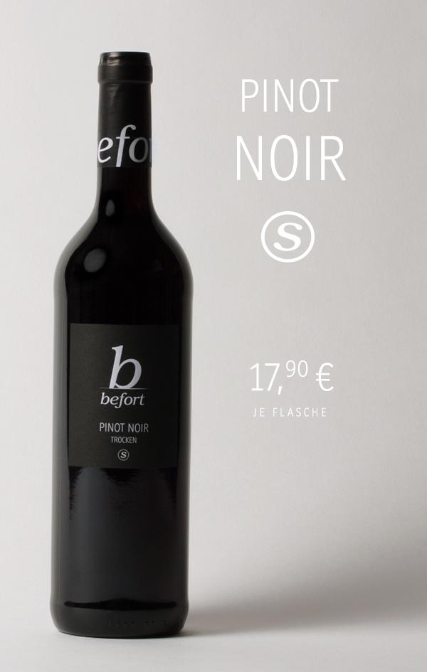 Pinot Noir Selektion 2018; 17,90 € je Flasche